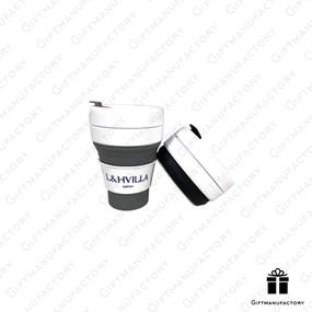Silicone Cup สั่งทำแก้วซิลิโคนพับได้พร้อมโลโก้ สั่งทำแก้วน้ำรักษ์โลก ของพรีเมี่ยมรักษ์โลก แก้วซิลิโคนพับได้คุณภาพสูง ของพรีเมี่ยม ของพรีเมียม