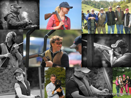 We're off to shoot clay-pigeon shoots