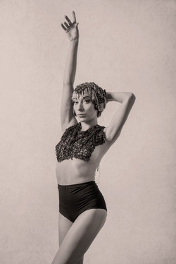 Burlesque Vintage girl