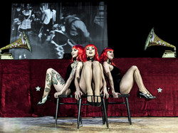 Red Cabaret Trio directed by Yazz