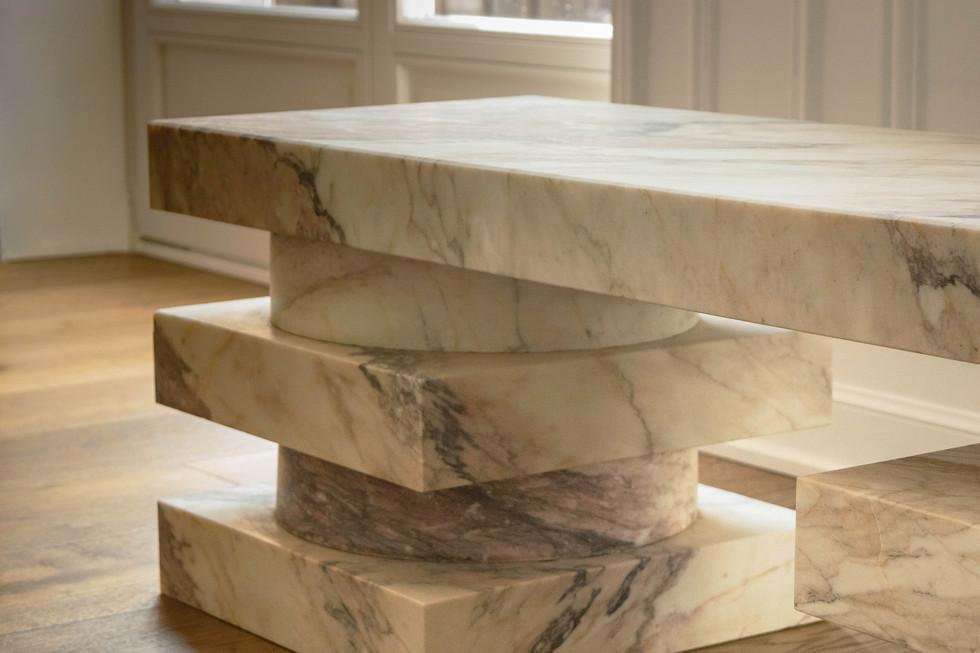 Pierre Gonalons - design - banc marbre 1
