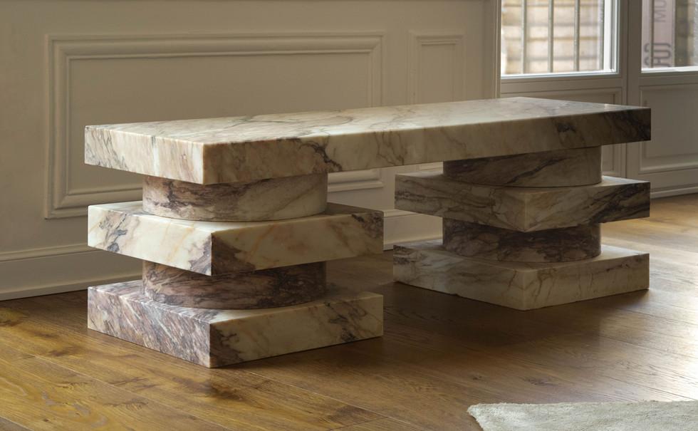Pierre Gonalons - design - banc marbre 3