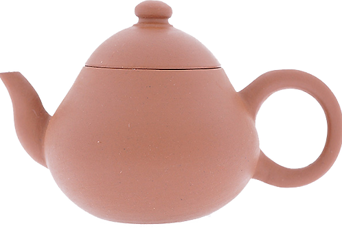 【梨型壺】 80年代潮州手拉壺,孟臣底印
