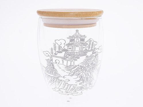 道風山雙層玻璃隔熱杯