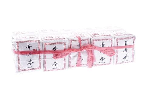 傳統手工茶葉包裝,普洱十粒裝
