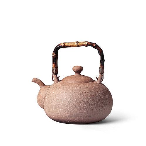 陶作坊│老岩泥一式燒水壺