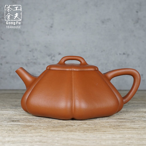 【梅花石瓢】原礦大紅袍