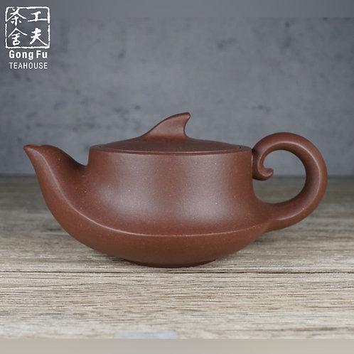 紫砂壺,底糟青之泉壺150ml