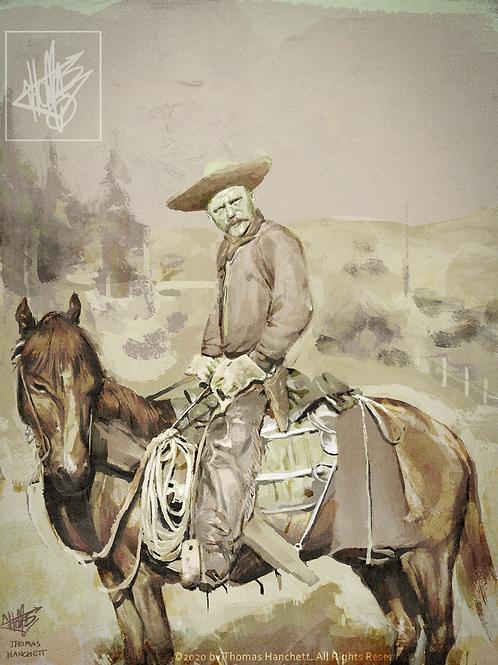 "Dakota Cowboy (11x14"")"