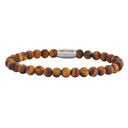 SON bracelet matt tiger eye