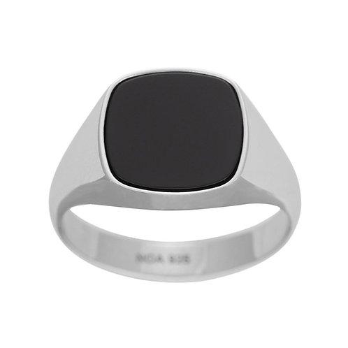 Klackring 925 black onyx