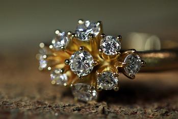 Omarbetning med kundens diamanter