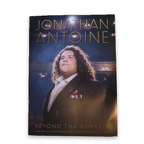 Jonathan Antoine Beyond the Curtain Concert Programme