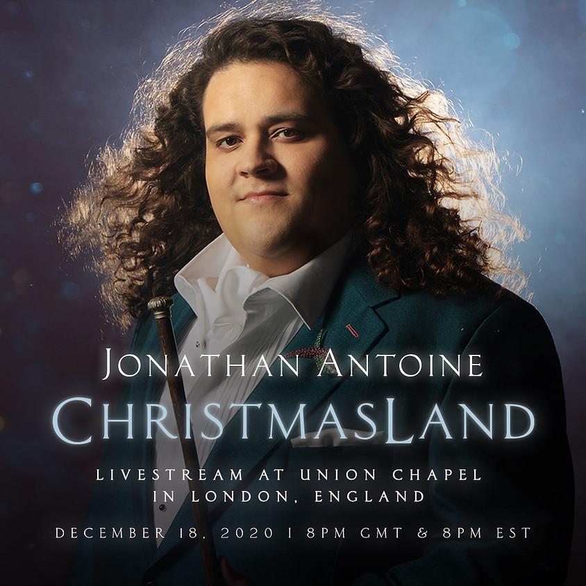 Jonathan Antoine: ChristmasLand Livestream at Union Chapel