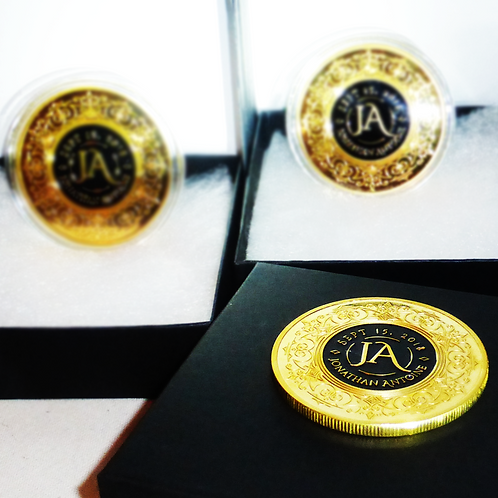 Jonathan Antoine Collectible First Event Coin