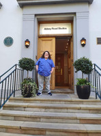 Jonathan Antoine at Abbey Road Studios