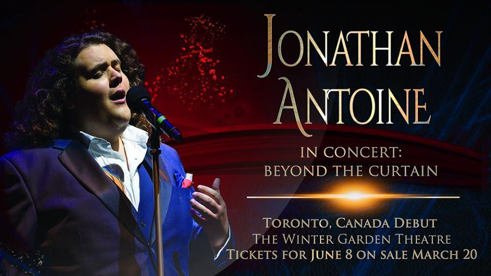 Jonathan Antoine Live in Toronto