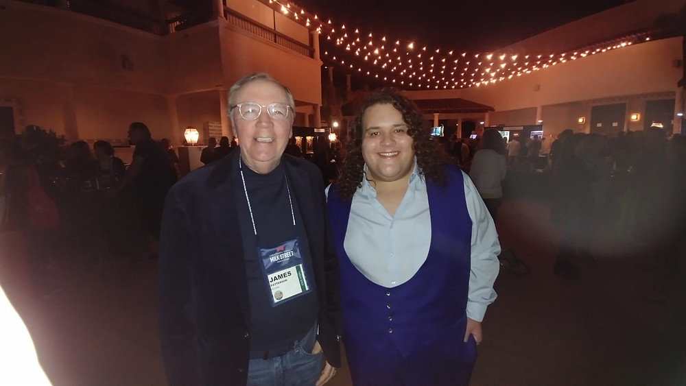 James Patterson and Jonathan Antoine