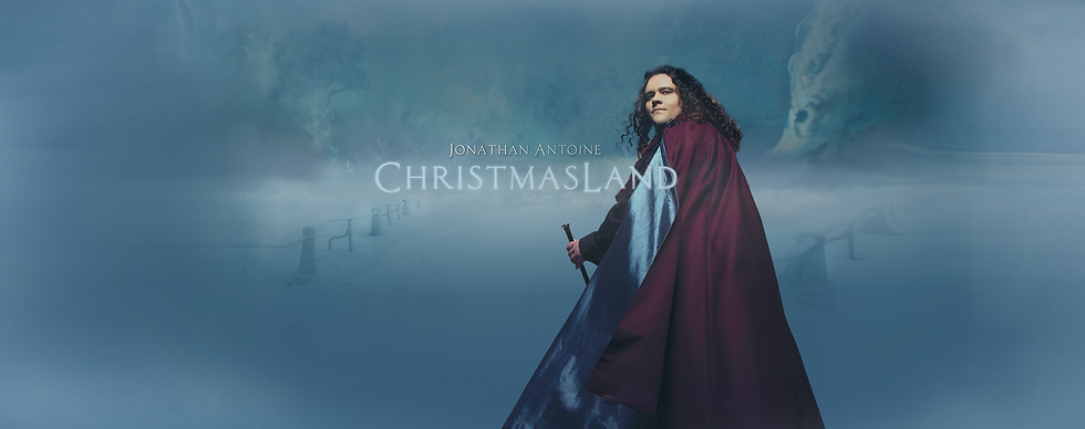 Jonathan Antoine Official New Album ChristmasLand .png