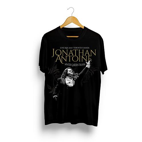 Jonathan Antoine Winter Garden Toronto Concert T-Shirt