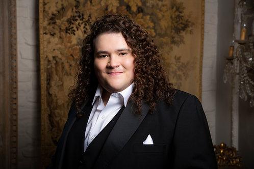 Autographed Photo of Jonathan Antoine -Black Suit