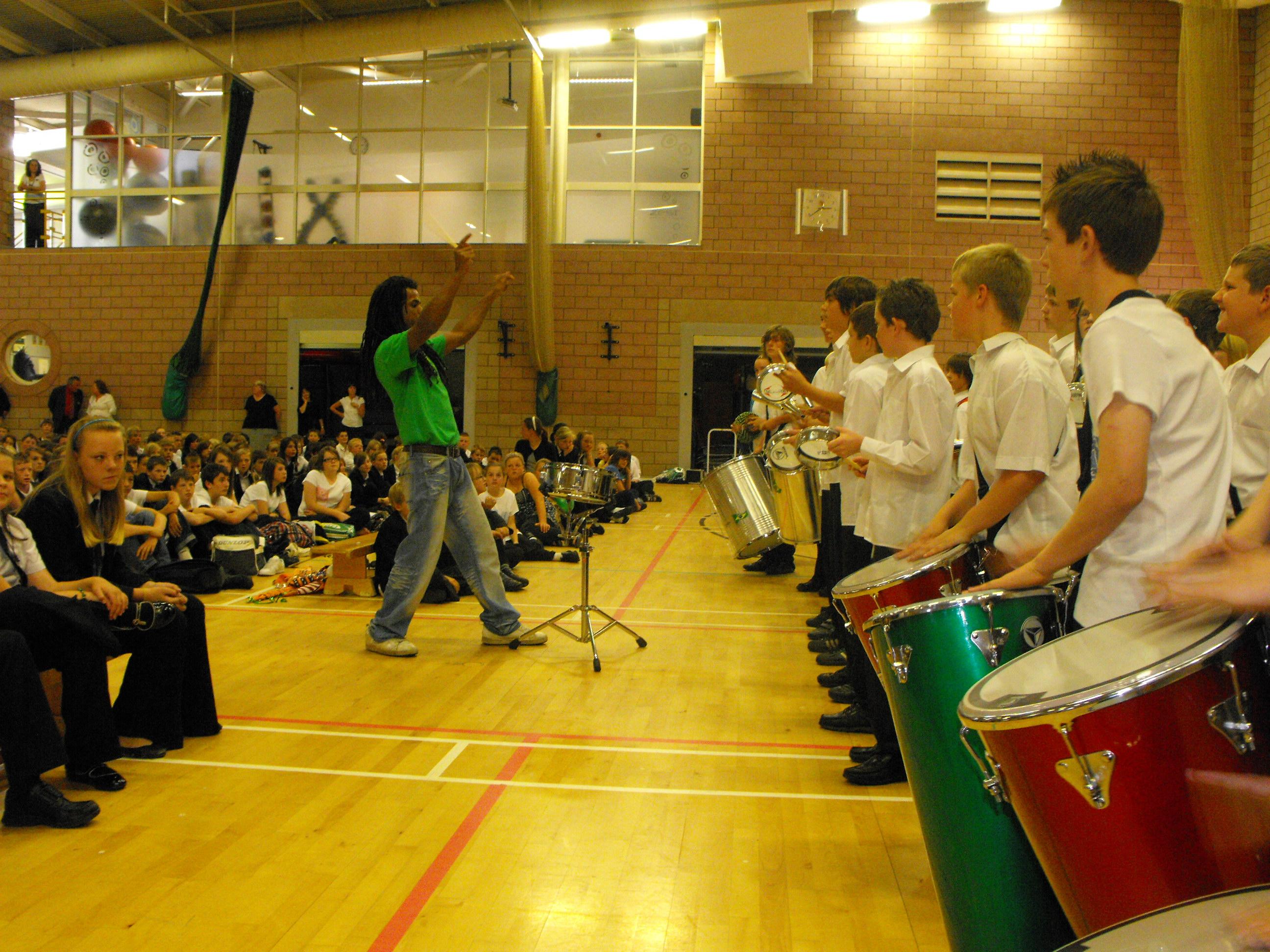 Brazilian percussion workshops