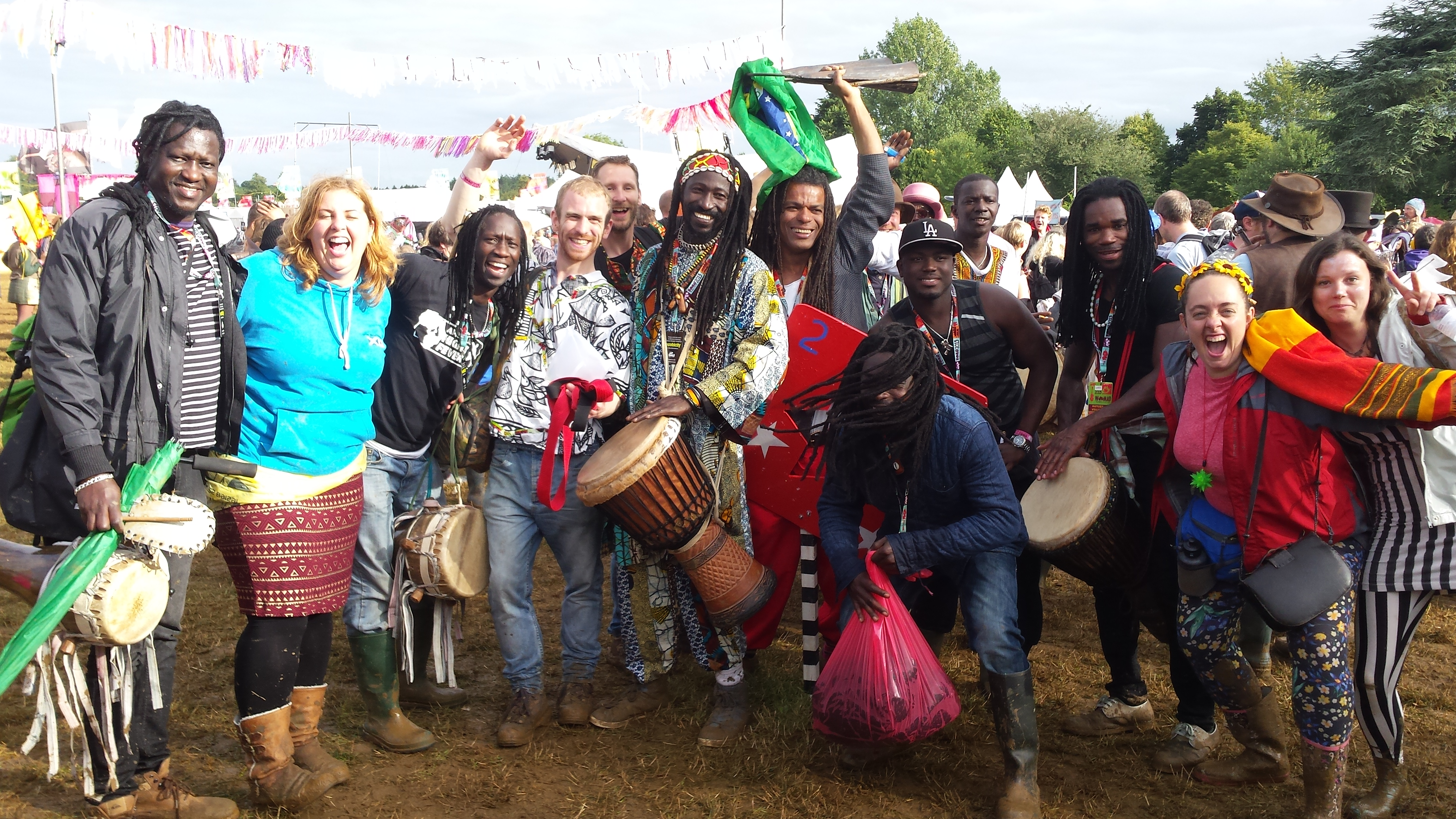 Womad Drumers