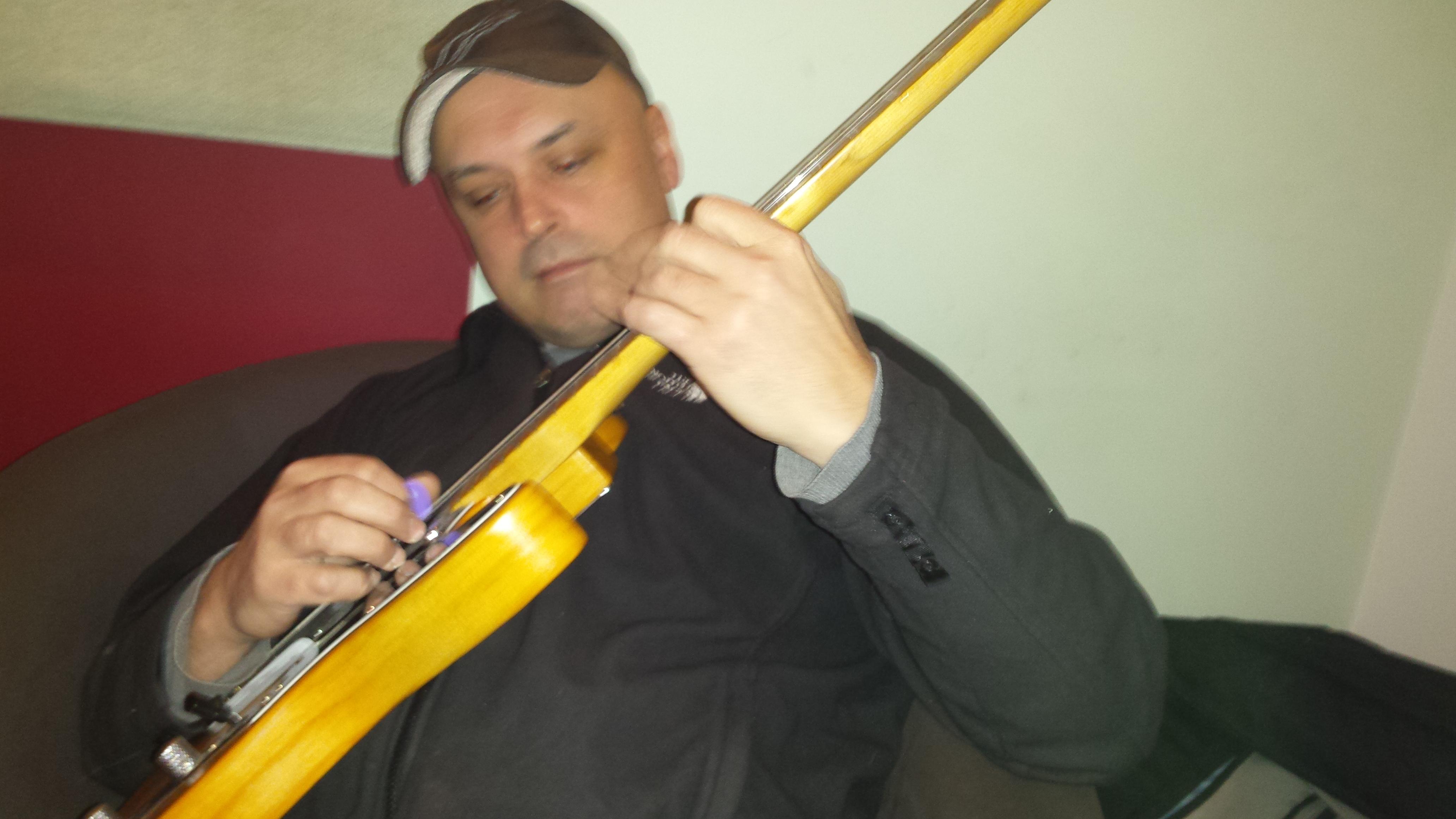 Julian Socha - Recording PAPAJACA