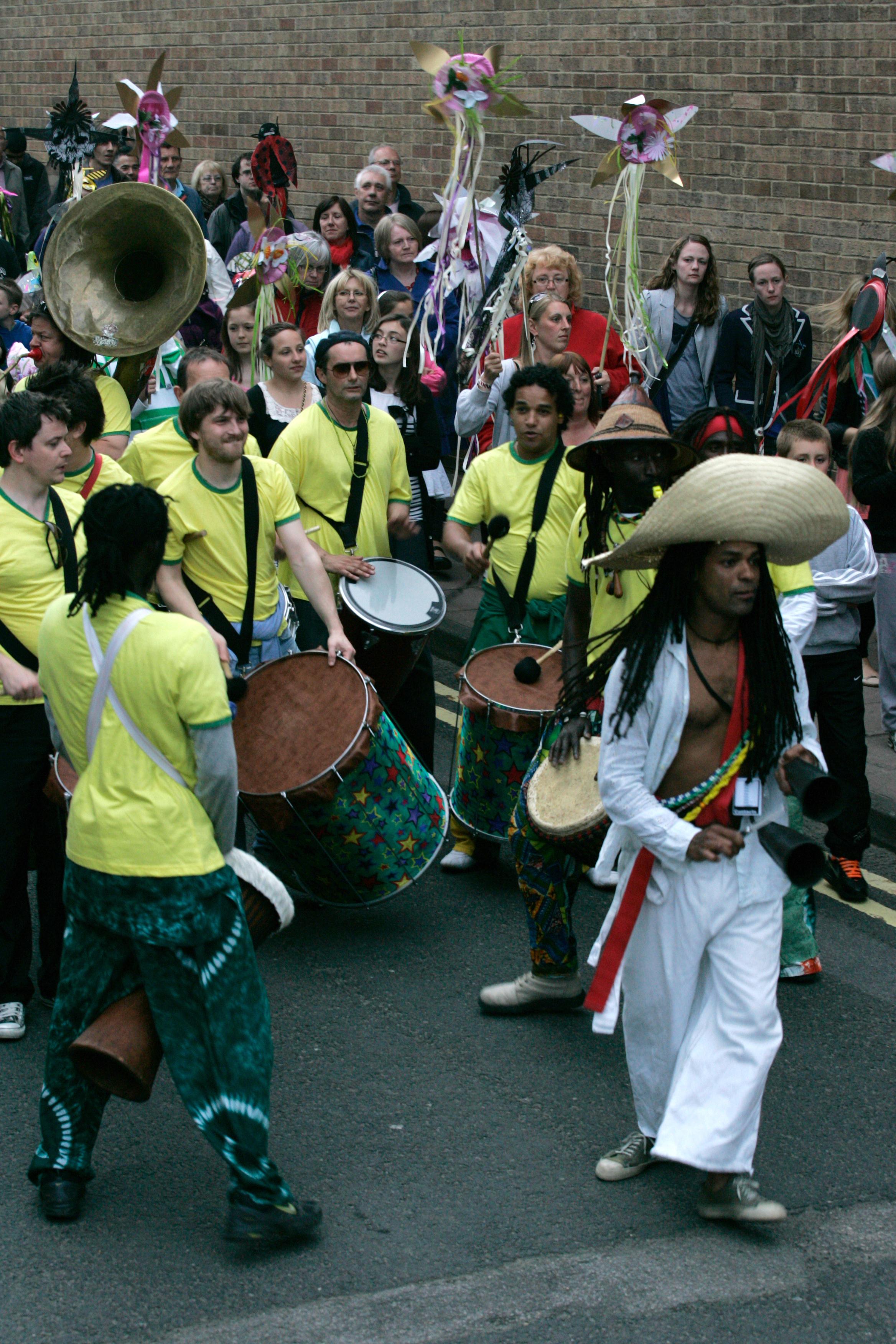 papaJACA Street Percussion