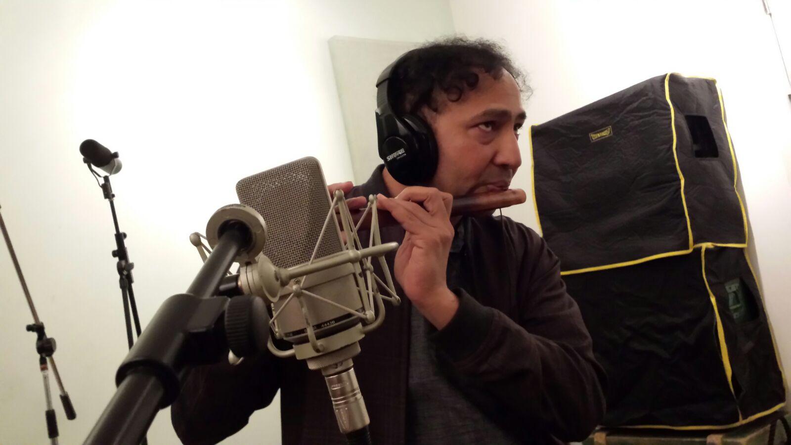 Vijay Venkat - recording PAPAJACA