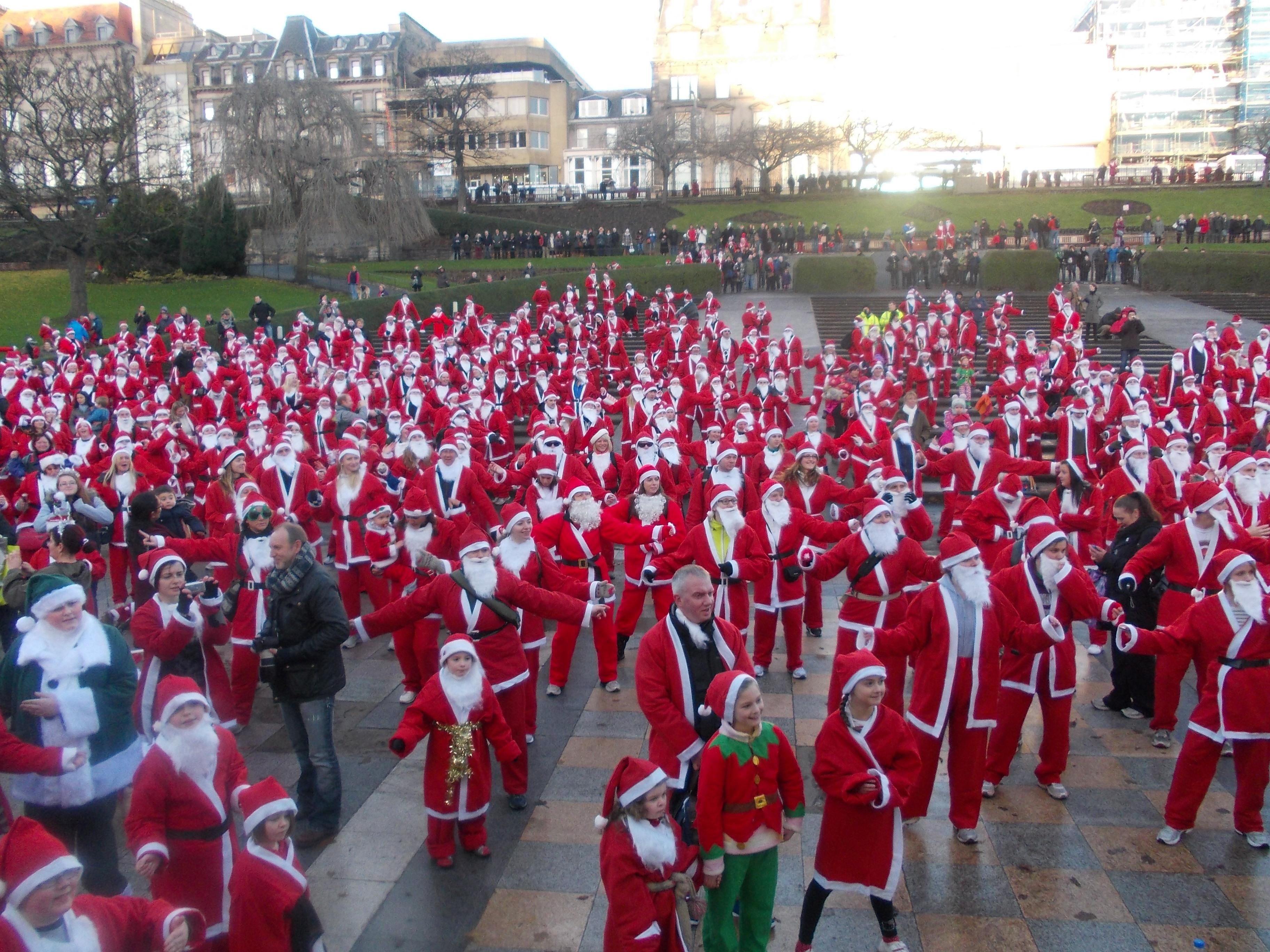 Santa RUN Edinburgh