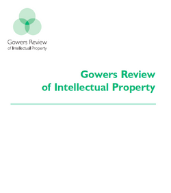 Gowers review of IP
