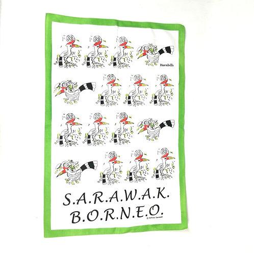 Tea Towel - Sarawak Design