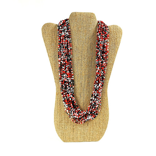 Necklace (R05)-Carnival Beaded