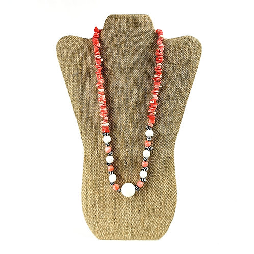 Necklace Missy Pink Coral