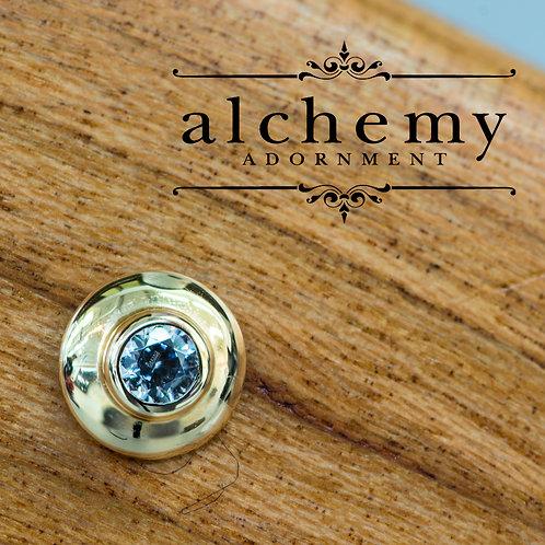 Alchemy Adornment UFO with 2mm Swarovski Crystal