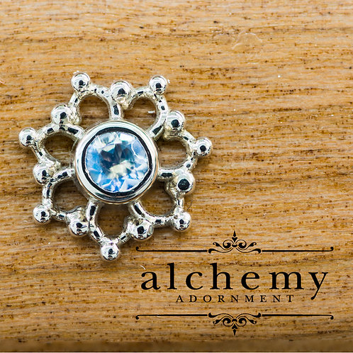 Alchemy Adornment Krystal with 3mm Genuine Stones