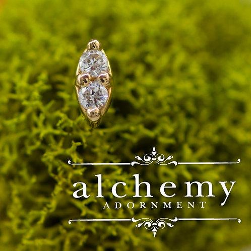 Alchemy Adornment Marquise with 1.7mm Swarovski Crystals