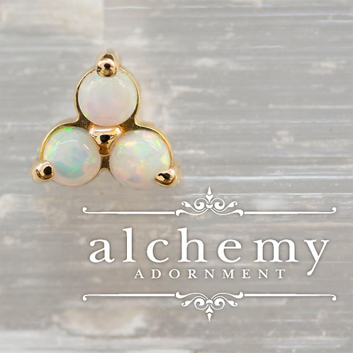 Alchemy Adornment Trinity with Faux Opals
