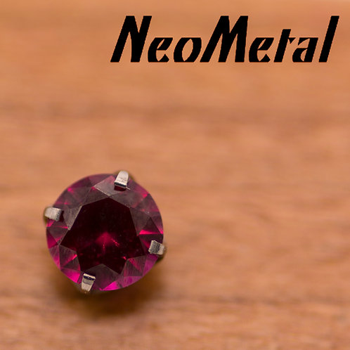 NeoMetal 1.5mm Prong Set Swarovski Crystal End