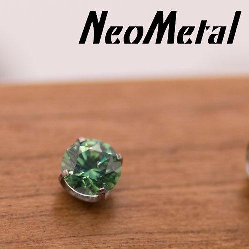 NeoMetal 2mm Prong Set Swarovski Crystal Ends