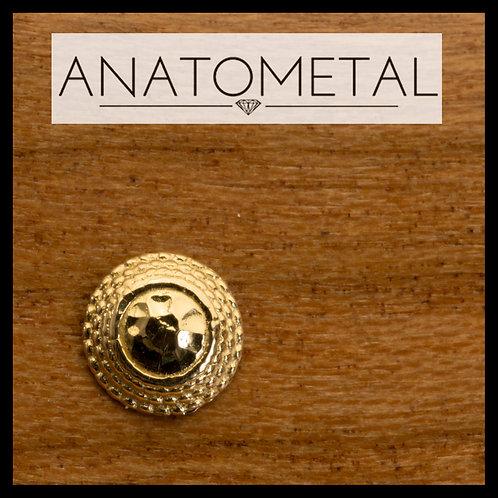 Anatometal Hammered Hera End