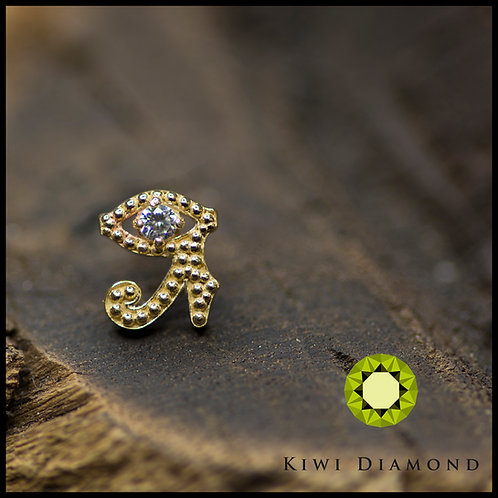 "Kiwi Diamond ""Eye Of Horus"""