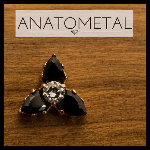 Anatometal Pear Trio End