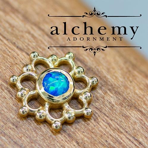 Alchemy Adornment Krystal with 3mm Faux Opal