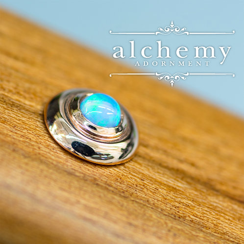 Alchemy Adornment UFO with 3mm Faux Opal