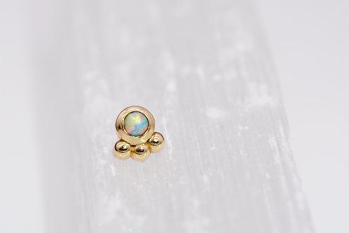 Alchemy Adornment Dani with 2mm Faux Opal