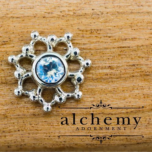 Alchemy Adornment Krystal with 3mm Genuine Stones