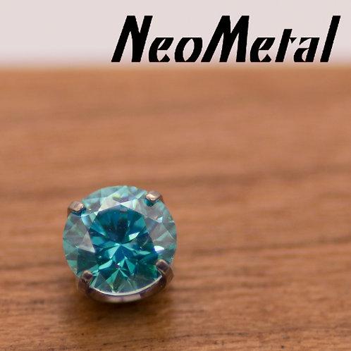 NeoMetal 2.5mm Prong Set Swarovski Crystal Ends