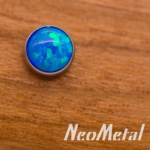 NeoMetal 3mm Opal Ends